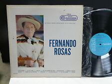 FERNANDO ROSAS con Los Trovadores de Mexico Guitarras CAMDEN CAM 56 Mexico Latin