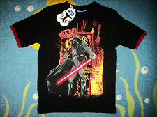 Star Wars T-Shirt Tee Shirt Darth Vader Sz Small Black NWT