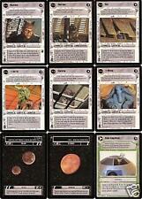 9 STAR WARS CCG Jabba's Palace LoT DEVARONIAN Elom +++