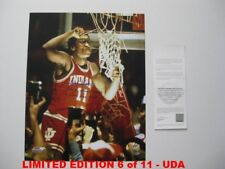 ISIAH THOMAS signed/autographed INDIANA HOOSIERS 16x20 Photo LIMITED 6/11 - UDA