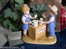 """Home Interiors Homco Denim Days """"Fresh Lemonade"""" Figurine w/Tag #15351"""