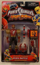 Power Rangers Ninja Storm Crimson Thunder Ninja Battle Power Ranger Bandai (MOC)