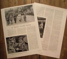 Article Le destin d'Adolf Hitler, photos  , 1941,