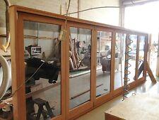 5 sash  Pacific Maple bifold door unit Assembled
