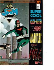 Lot Of 2 Comic Books Comico The Jam #1 and Permission to Die James Band 007 ON7