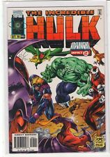 Incredible Hulk #445 Avengers Onslaught crossover 9.4
