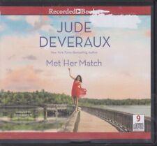 MET HER MATCH by JUDE DEVERAUX ~ UNABRIDGED CD AUDIOBOOK
