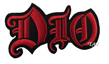 DIO Heavy Metal Band Iron/Sew on Embroidered Patch UK Seller QUALITY BADGE