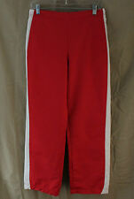 Lady Foot Locker, Small, Red/White Track Pant