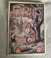 Very Rare 1944 Fairies & Other Stories No55 Published By Gerald G. Swan Ltd