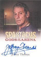 2012 SPARTACUS TRADING CARDS Autograph JEFFREY THOMAS as TITUS BATIATUS  (#2)