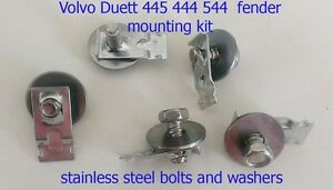 Volvo Duett PV544 PV444 444 544 fender mounting bolts and nuts 1954-1966 set of5