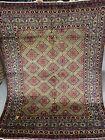 5X7 FT Handmade Samarkand Geometric Design tribal high quality Uzbek wool rug