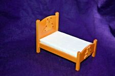 Miniature Bear Bed in 1:12 doll scale T6466