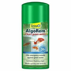 Tetra AlgoRem - Green Water and Algae Treatment for Ponds - Pond Treatment