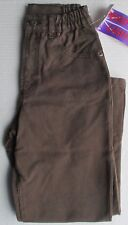 New Brown pants by designer Speed of Light strong sturdy 100% cotton 7/8 year