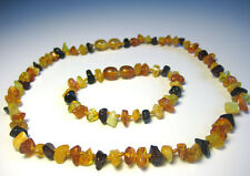 Natural  Baltic Amber Children's Necklace and Bracelet