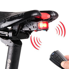 ANTUSI A6 3 in 1 Bicycle Wireless Rear Light Cycling Remote Control Alarm Lock