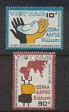 N.Vietnam MNH Sc # 1814-15 Mi 1849-50 Value $ 2.25  US $$ AAPSO