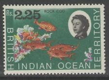 BRITISH INDIAN OCEAN TERR SG27 1968 2r25 MARINE LIFE MNH