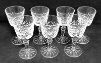 Gorham Crystal MELROSE 7 Cordial Glasses EXCELLENT