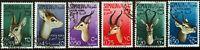 Somalia A.F.I.S. - 1955 - Posta Aerea - Animali - usata - nn.26/31