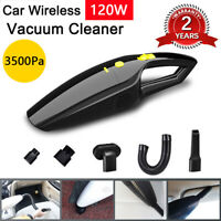 Cordless Car Vacuum Cleaner 120W Auto Portable Wet Dry Handheld Duster