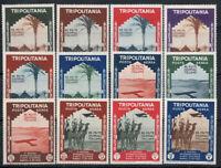 Tripolitania 1934 Sass. 94-99, A41-46 Nuovo ** 60% 2 ° Mostra Internazionale d'
