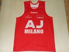 Shirt Maillot Tank Top Basketball Aj Armani Milano Double Face Size 3Xl