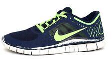 Nike 5.0 Free Run 3 Men's Navy Running Sneaker Sz 10 1636