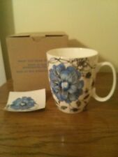 Avon What You Mean To Me Mug -  Blue Zinnia - New in Box With Insert Card