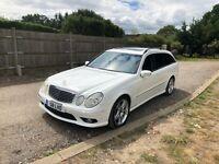 2004 W211 Mercedes E500 5.0 V8 Estate Auto LHD 56k Miles FSH **NO RESERVE**