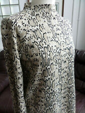 M&S Collection Animal Leopard Print Long Sleeve Top/Jumper Size UK 12