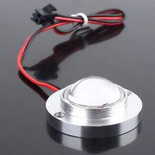 2 LED Car Strobe Bulb Light Warning Emergency Flash DC 12V 5W+Controller White