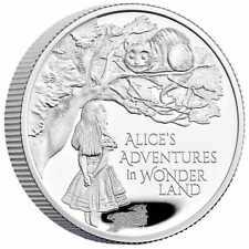 Alice's Adventures in Wonderland 2021 £5 1/2oz Silver Proof Coin