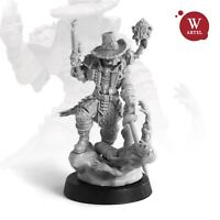 "28mm wargaming and collectible miniature, Witch-Hunter by ""W"" Artel"