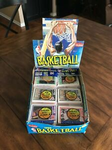 1989-90 Fleer Basketball Rack Packs w/ 37 chances to find Michael Jordan?