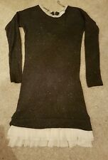 Cape Daisy Knitted Dress.  Size M.             SELLER AWAY FROM 24JULY TO 24AUG