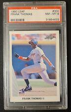 New listing Baseball Vintage 1990 Leaf #300 Frank Thomas RC PSA 8 NM-MT Chicago White Sox