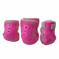6x Kids Child Knee Elbow Wrist Protective Pad Cycling Roller Skate Outdoor Sport