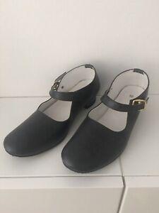 Chaussures à talons pointure 35 enfant fille - déguisement flamenco Tango B.E