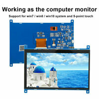 1920x1280 TFT IPS Display for Raspberry Pi /BB 7inch LCD Touch Screen for PC HPT