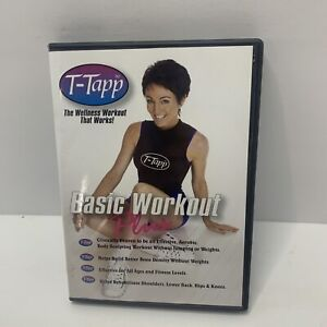 T-Tapp - 15 Minute Basic Workout Plus [DVD] total workout home exercise