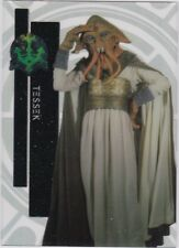 STAR WARS 2015 TOPPS HIGH TEK 31 TESSEK FORM 1 PATTERN 1 THRONE ROOM
