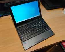 ACER ONE D255 Netbook 10.1 Inch Webcam WIFI Windows 10 Laptop