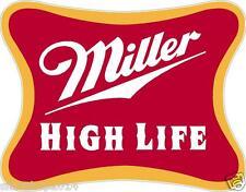 """2 Miller High Life 14"""" Cornhole Vinyl Decals Stickers Baggo Toss Beer"""