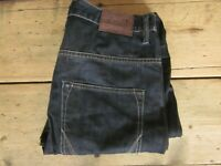 ALLSAINTS ES RUNNER JEANS (32x34) DARK-BLUE TWISTED IMMACULATE COTTON - Immacula