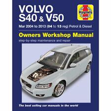 Volvo S40 V50 Haynes Manual 2004-13 1.8 2.0 2.4 Petrol 1.6 2.0 2.4 Diesel