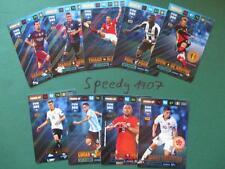 Fifa 365 all 9 Key Players Fifa Kroos Thiago Pogba  complete Panini Adrenalyn 17