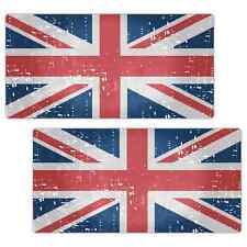 Bandera Británica Viejo Grunge Aspecto Grande 300mm Laminado Adhesivo Coche